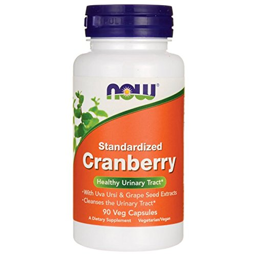 NOW Foods, Standardized Cranberry Extract, Supports Healthy Urinary Tract, 90 Veg (Uva Ursi Urinary Tract Infection)