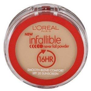 L'Oréal Paris Infaillible ne manquent jamais de poudre, Nude Beige, 0,30 once
