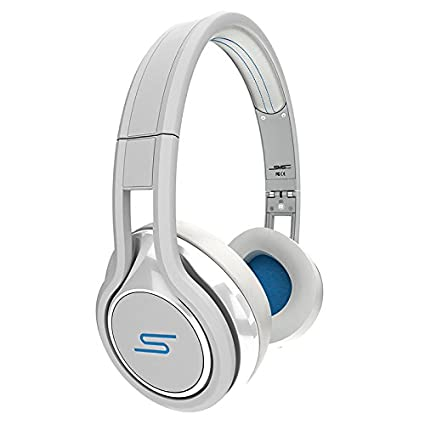 d917d709c2b Amazon.com: SMS Audio Street by 50 Cent Wired On-Ear Headphones - White:  Home Audio & Theater