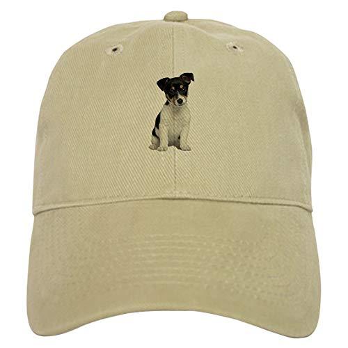 CafePress Jack Russell Terrier Baseball Cap with Adjustable Closure, Unique Printed Baseball Hat Khaki ()
