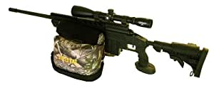"""BULLS BAG #1801-APG AR/PRO-Series New-APG-Real Tree® Camo/Suede 10"""" AR Tactical/Hunter Shooting Rest (Unfilled)"""