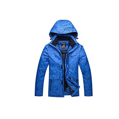 Traspirante Size Giacca Black M Blue Impermeabile Sci color Uomo E Da Antivento Felicig 4Uqv0xU