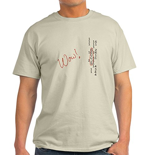 CafePress Wow Signal SETI Message 100% Cotton T-Shirt, White