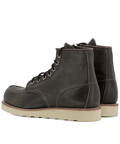 08890 Men's Black Red Wing Boots Ankle Leather aqUxB