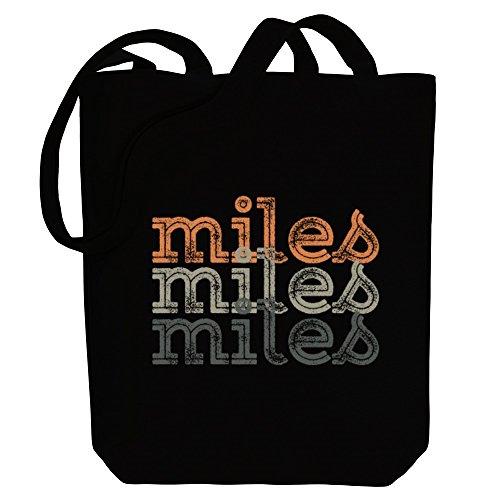 Idakoos Miles repeat retro - Männliche Namen - Bereich für Taschen