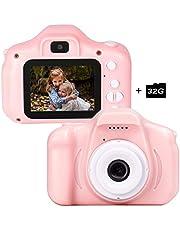 CAMORO améra Enfant, caméra vidéo / vidéo 1080p HD, écran LCD 2 Pouces, EST livré avec Une Carte mémoire 32G-16
