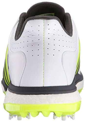 Hombre adidas Golf TOUR360 Boost spiked zapatos blanco / negro / solar yel