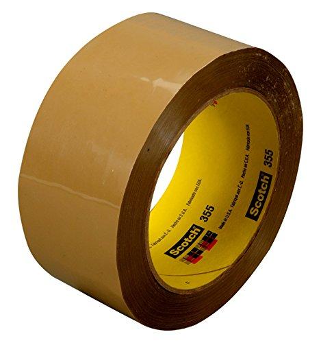 Scotch 06650-case Box Sealing Tape 355 Tan, 36 mm x 50 m (Pack of 48)