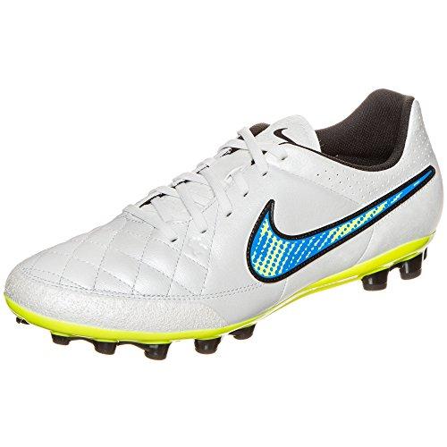 NIKE - Bota de futbol tiempo genio leather ag nk 717141.174 - Weiss / Gelb