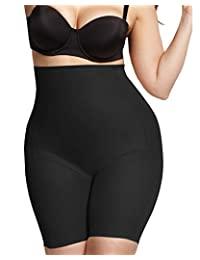 Naomi and Nicole Women's Plus-Size Comfort Plus Hi Waist Thigh Slimmer