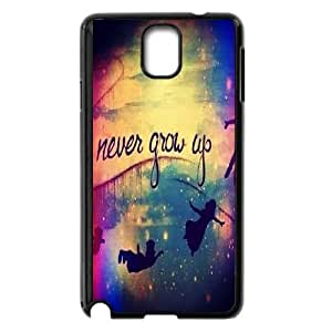 Samsung Galaxy Note 3 Phone Cases Black Never Grow Up CWQ184159
