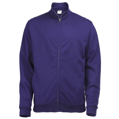 Hoods Just Felpa Sweat Fresher By Full Zip Donna Awdis Viola OfnBCHWf