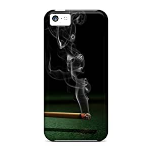 LJF phone case Fashionable Style Case Cover Skin For iphone 4/4s- Smoking Pool