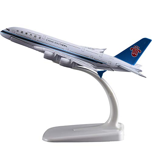 - Marrsto 16Cm China Southern Airlines A380 Airplane Model Southern Airbus Airways Model Metal Aircraft Chinese Aviation Pane Model Toys