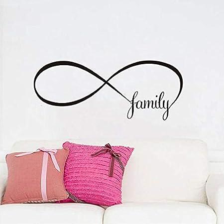 Crjzty Símbolo Infinito de la Familia Signo Sin Fin Etiqueta de La ...