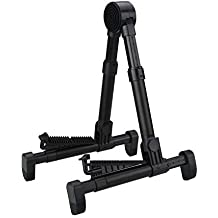 Entil Guitar Stand Universal Folding Musical Instruments Stand for Guitar/Electric Guitar, Bass,Banjo - Black
