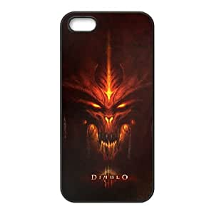 Diablo III iPhone 5 5s Cell Phone Case Black Tribute gift pxr006-3913442