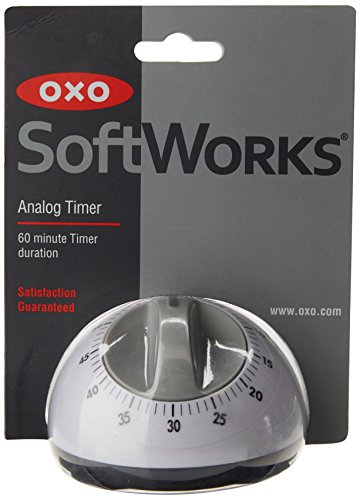Oxo Sftwks Analog Timer Size Ea Oxo Analog Timer, White (Kitchen Timer Digital Oxo)