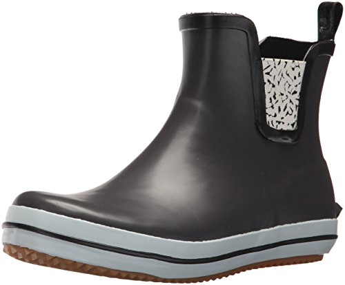 Kamik Women's Sharonlo Ankle Boots, Black Charcoal Grey