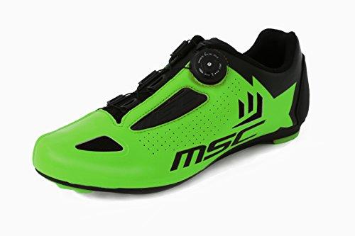 Scarpe Road 41 Verde Ciclismo Aero T Msc Bikes qFwtSS