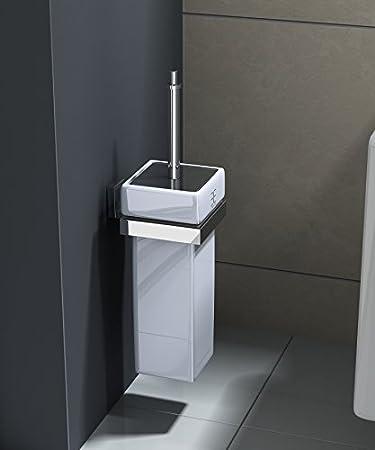 Interessant Design Toilettenbürste MMA807B, Behälter aus Keramik, WC  LT74