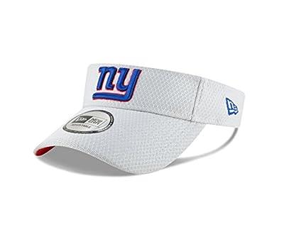 New Era New York Giants Official 2018 NFL On-Field Training Visor -Gray