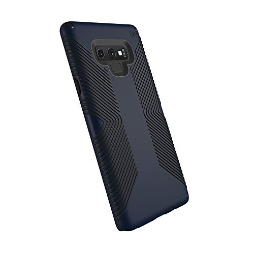 Speck Products Compatible Phone Case for Samsung Galaxy Note 9, Presidio Grip Case, Eclipse Blue/Carbon Black