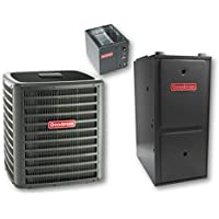 Goodman GSX160301  SINGLE-PHASE 16 SEER R-410A CONDENSING UNIT, 2.5 Tons, 29,000 BTU, 208V/230V, 17.1 Amp