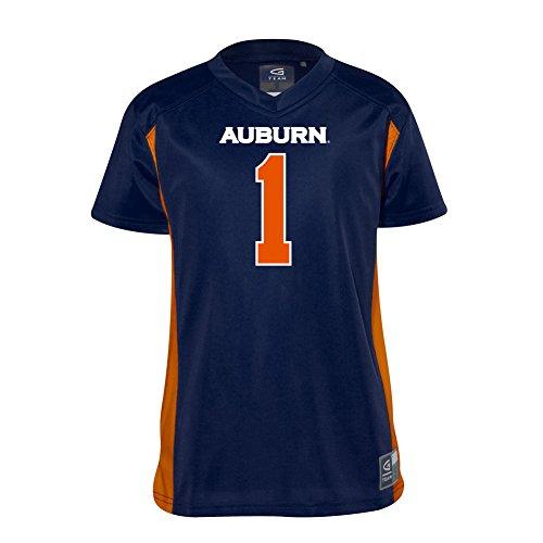 Elite Fan Shop Auburn Tigers Kids Football Jersey - M (7-8) - Navy