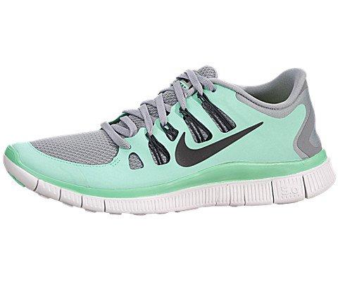 6a1aa6e68158 Nike Free 5.0+ Womens Running Shoes 580591-003 Silver 7.5 M US (B00BLRIYPO)