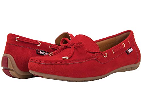- GLOBALWIN Women's Red Loafer Shoes 6 M US