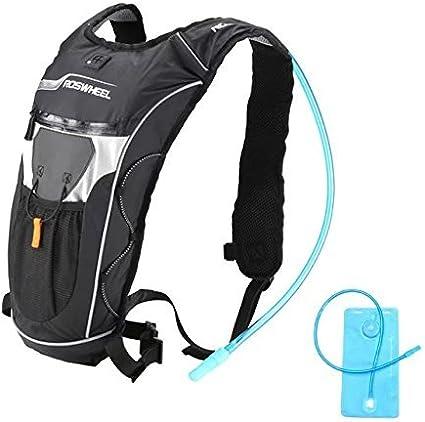 Noir 5L Sac /à Dos Sac Hydratation pour Cyclisme V/élo VTT Camping Randonn/ée