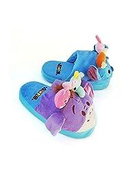 Stompeez Disney Tsum Tsum Slippers for Kids Blue