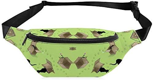 エコーライムボックス ウエストバッグ ショルダーバッグチェストバッグ ヒップバッグ 多機能 防水 軽量 スポーツアウトドアクロスボディバッグユニセックスピクニック小旅行