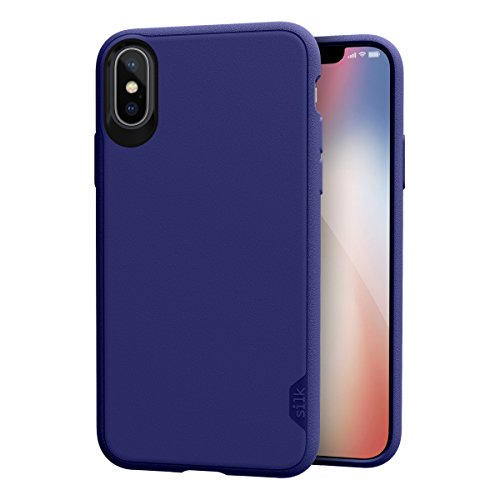 Silk iPhone X/XS Grip Case - Kung Fu Grip [Lightweight Protective Base Grip Slim Cover] - Purple Orchid
