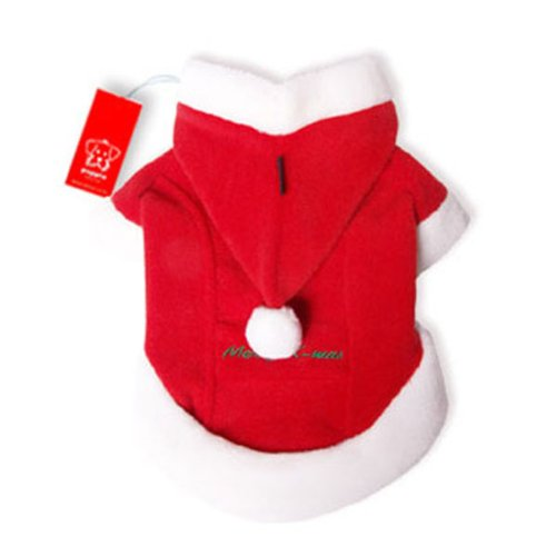 Puppia Santa Claus Winter Coat, Large, (Puppia Santa)
