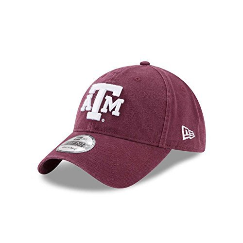 New Era Texas A&M Aggies Campus Classic Adjustable Hat - Team Color, One Size