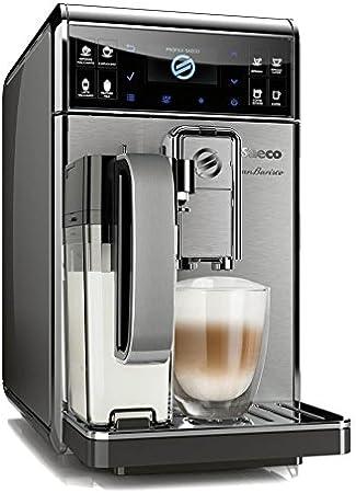 Saeco GranBaristo HD8975/01 - Cafetera (Independiente, Máquina espresso, 1,7 L, Molinillo integrado, 1900 W, Antracita, Acero inoxidable): Amazon.es: Hogar