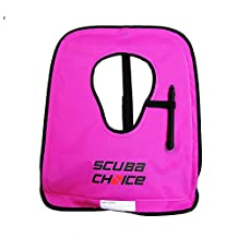 Scuba Choice Adult Diving/Snorkeling Vest with Name Box, X-Large, Purple