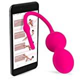 Kegel Exerciser with APP & Vibration: Doctor Recommended Kegel Balls for Beginners & Advanced for Pelvic Floor Exercises & Women Bladder Control - Regain Your Tightness Now With Kehel by Joy ON Toys!