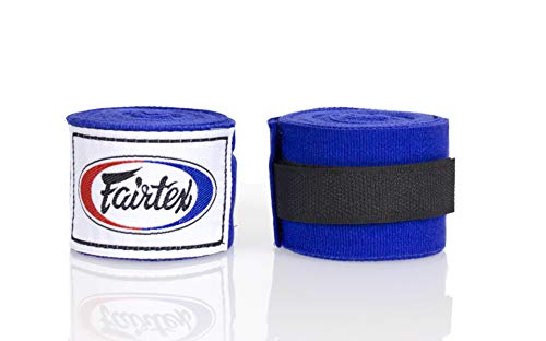 Fairtex Elastic Cotton HANDWRAPS HW2-180-full Length Hand Wraps-Black/Red/Blue/White/Olive Green/Mint Green
