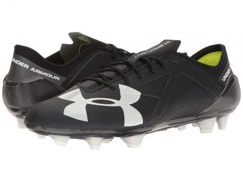 Under Armour(アンダーアーマー) メンズ 男性用 シューズ 靴 スニーカー 運動靴 UA Spotlight FG Black/White [並行輸入品] B07BDKXK8T10.5 D Medium