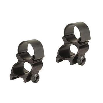 """Weaver Unisex 49510 See-Thru, 1"""" Rings, Extended, Matte Black,"""
