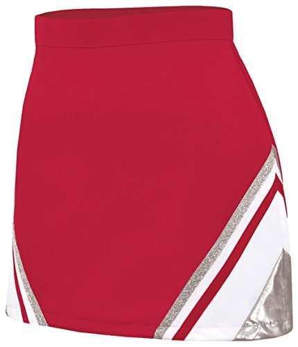 Met A-Line Wing Skirt Red/Silver Medium