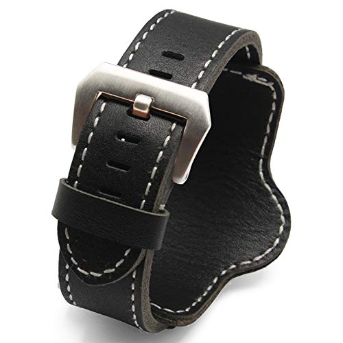 Choco&Man US Panerai Calfskin Leather Watch Band Replacement for Men's Panerai Watches (Replica Panerai)