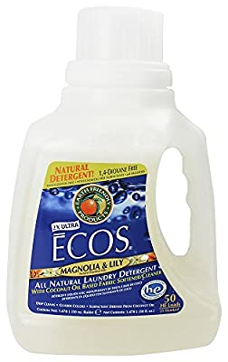 Earth Friendly - ECOS 2X Ultra Laundry Detergent Magnolia & Lily