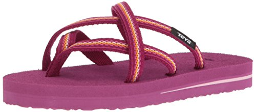 - Teva Girls' K Olowahu Flip-Flop, Lindi Boysenberry, 11 M US Little Kid