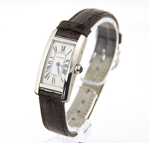 Cartier Tank Americaine quartz womens Watch W2601956 (Certified Pre-owned)