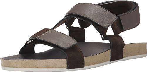 Marc Jacobs Men's Summer Nappa Strappy Sandal, Grey, 43 (US Men's 9) D-Medium by Marc Jacobs