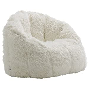 Big Joe Lux Milano in Shag, Ivory